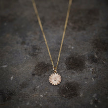 Load image into Gallery viewer, Daisy Pendant in 9ct Yellow Eco Gold