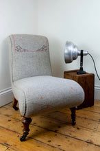 Load image into Gallery viewer, Victorian Embroidered Nursing chair