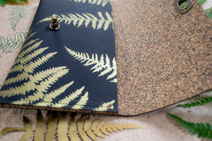 Gower fern solid clutch