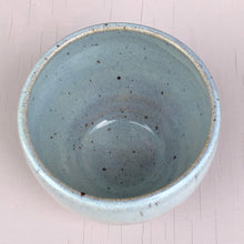 Load image into Gallery viewer, Stoneware teabowl with opal glaze