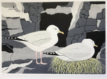 Load image into Gallery viewer, Nesting Gulls