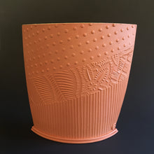 Load image into Gallery viewer, Terracotta vessel with yellow interior
