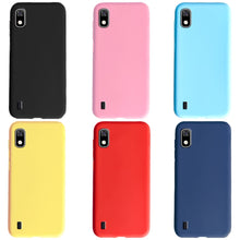 Load image into Gallery viewer, For Samsung Galaxy A10 Case Silicone Phone Cover TPU Cases For Funda Samsung A 10 A10 2019 Back Case Soft Matte Bumper Coque