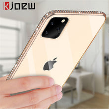 Load image into Gallery viewer, KJOEW Phone Case For iPhone 7 X XR XS MAX 8 6 6s Plus 11 Pro Max Bling Diamond Transparent Crystal Soft TPU Back Cover Cases