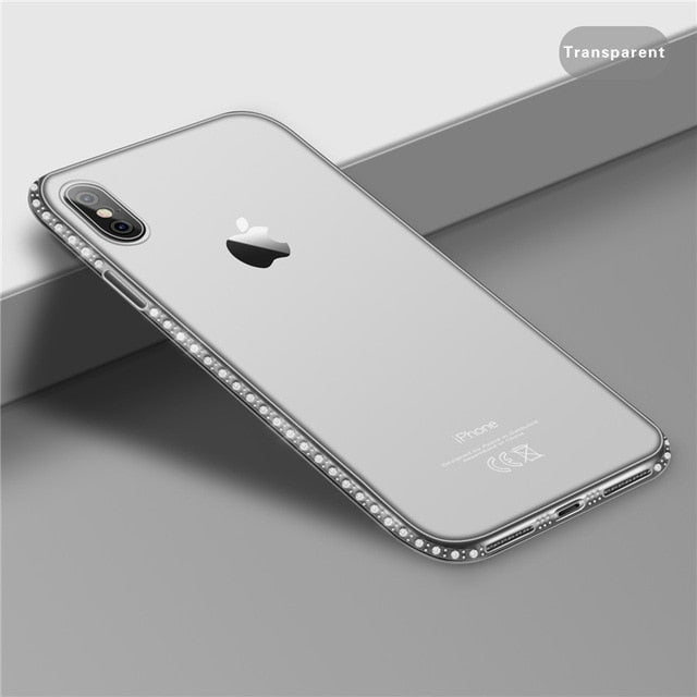 USLION Soft Case For iPhone 11 Pro XR 8 7 6s Plus 5s SE X XS MAX Transparent TPU For iPhone XS MAX Phone Case Phone Cover Capa