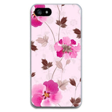 Load image into Gallery viewer, Phone Case For iPhone 7 7Plus 6 6S 5 5S SE Case Soft TPU Cover Flower Leaves Bird For iPhone 6S 8Plus coque iphone xs