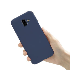 for Cover Samsung Galaxy J6 2018 case Silicone Back Cover sFor Coque Fundas Samsung J6 2018 J6 Plus 2018 Capa Soft Phone Cases