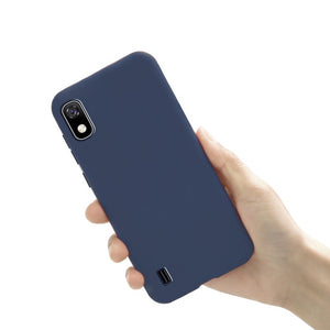 For Samsung Galaxy A10 Case Silicone Phone Cover TPU Cases For Funda Samsung A 10 A10 2019 Back Case Soft Matte Bumper Coque