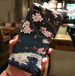 3D Relief Van Gogh Phone Case For iPhone 7 Plus 8 6 6S X Soft Silicone Cover For iPhone 5 5S SE XS XR 11 Pro MAX Starry Sky Case