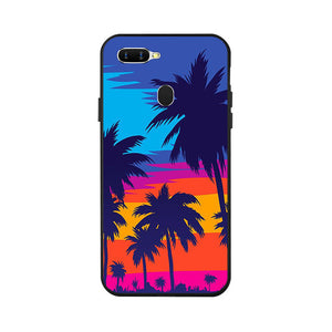 For Oppo A7 AX7 Case Cover Carton Painted Soft Cover Phone Case For OPPO A5S A7 A 7 ax7 a x7 Cases OPPOA7 CPH1901 Fundas Sheer