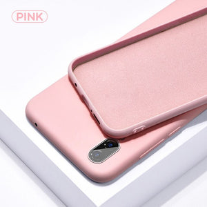 Mi A3 Case Shockproof Liquid Silicone Rubber Soft Case Cover For Xiomi Xaomi Xiaomi Mi A3 MiA A 3 MiA3 Phone Fundas Coque Cases