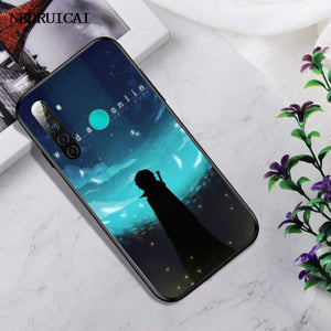 NBDRUICAI Hot Sword Art Online SAO Anime Manga TPU black Phone Case Cover Hull For OPPO Realme 5 3 2 Pro F7 F9 F11 F3 RENO Cover