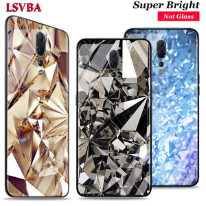 Diamond Pieces for OPPO Reno Z 10X Zoom F11 F9 F7 F5 A7 R9S R17 Realme 2 C2 K3 Pro Super Bright Glossy Phone Case Cover