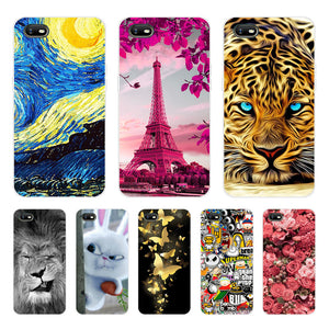 OPPO A1K Case Silicone TPU Protective Cover Cartoon Phone Case For OPPO A1K CPH1923 CPH 1923 A 1K OPPOA1K Case Soft 6.1 inch