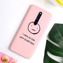 Load image into Gallery viewer, 3D Soft TPU Case For Oppo F11 Pro A3s A5s A33 A37 A39 A57 A59 A71 A79 A83 K1 K3 R15 R11S Plus F5 F7 F9 Matte Silicone Back Cover