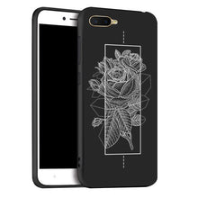 Load image into Gallery viewer, For Oppo K1 Case Phone Black silicone Cover For OPPO RX17 Neo case For Oppo K1 K 1 Cover Case 6.4inch soft tpu cover