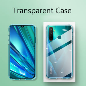 For OPPO Realme 5i Case Slim Soft Transparent High Clear TPU Phone Cases For Realme 5i