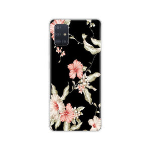 For Samsung Galaxy A51 Case Silicon soft Back Cover For Samsung A51 A515 6.5inch coque bumper Skin shockproof copas cute