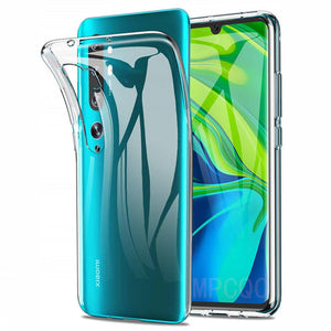 Ultra Thin Phone Cases for Xiaomi Mi Note 10 Pro Back Cover Case 360 Camera Protective Mi 9 Lite Silicone TPU Coque Redmi 8A 8 7