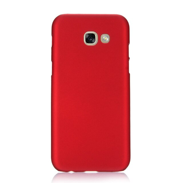 Phone Case For Fundas Samsung Galaxy A5 2017 Case 360 Hard plastic PC Candy Color Back Cover For Samsung A3 A5 A7 2016 2017 Case
