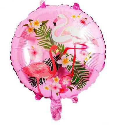 Ballon Flamant Rose Jungle