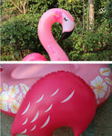 belle bouee gonflable flamant rose
