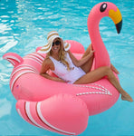 bouee pool party flamant rose