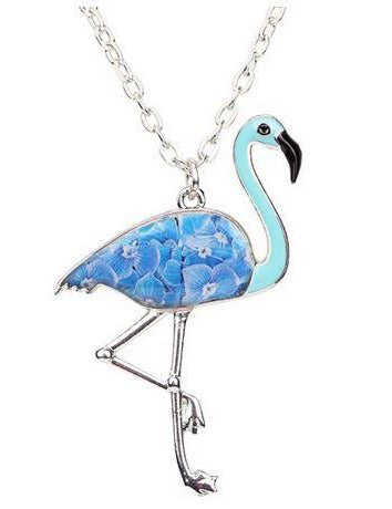 Collier Flamant Rose mixte