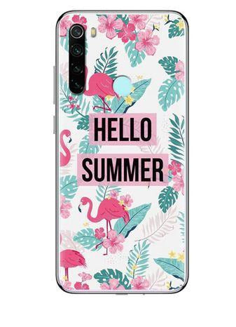 coque redmi note 8 flamant rose