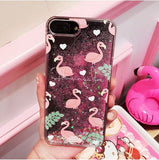 coque flamant rose pour iphone