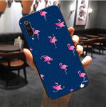 coque telephone souple flamant rose rigolo xiaomi