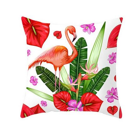 Coussin Mode Flamant Rose