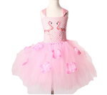 costume fille flamant rose deguisement robe