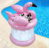 accessoire pool party flamant rose