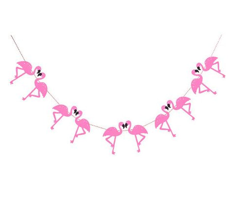 Guirlande Flamants Rose