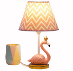 lampe flamant rose prince chevet