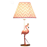 lampe flamant rose grand format chevet