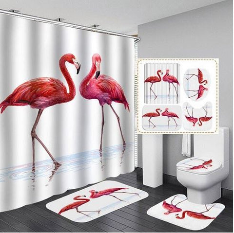 decoration flamant rose maison pas cher