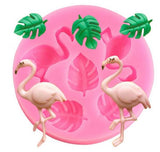 moule silicone flamant rose pas cher