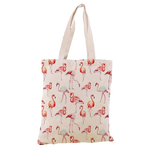 petit sac shopping flamant rose