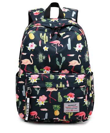 sac a dos flamant rose impermeable