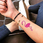 Tatouage Flamant Rose Kawaii