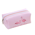 trousse flamant rose taille xxl toile
