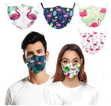 masque flamant rose