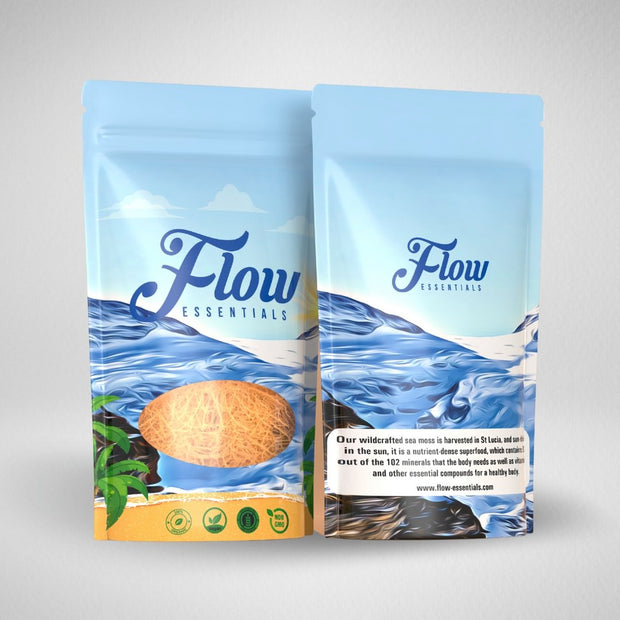Dry Wildcrafted Sea-moss Directly From St Lucia - FLOW Essentials