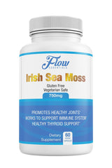 Irish Sea Moss Supplement (750 mg) 60 Capsules - FLOW Essentials