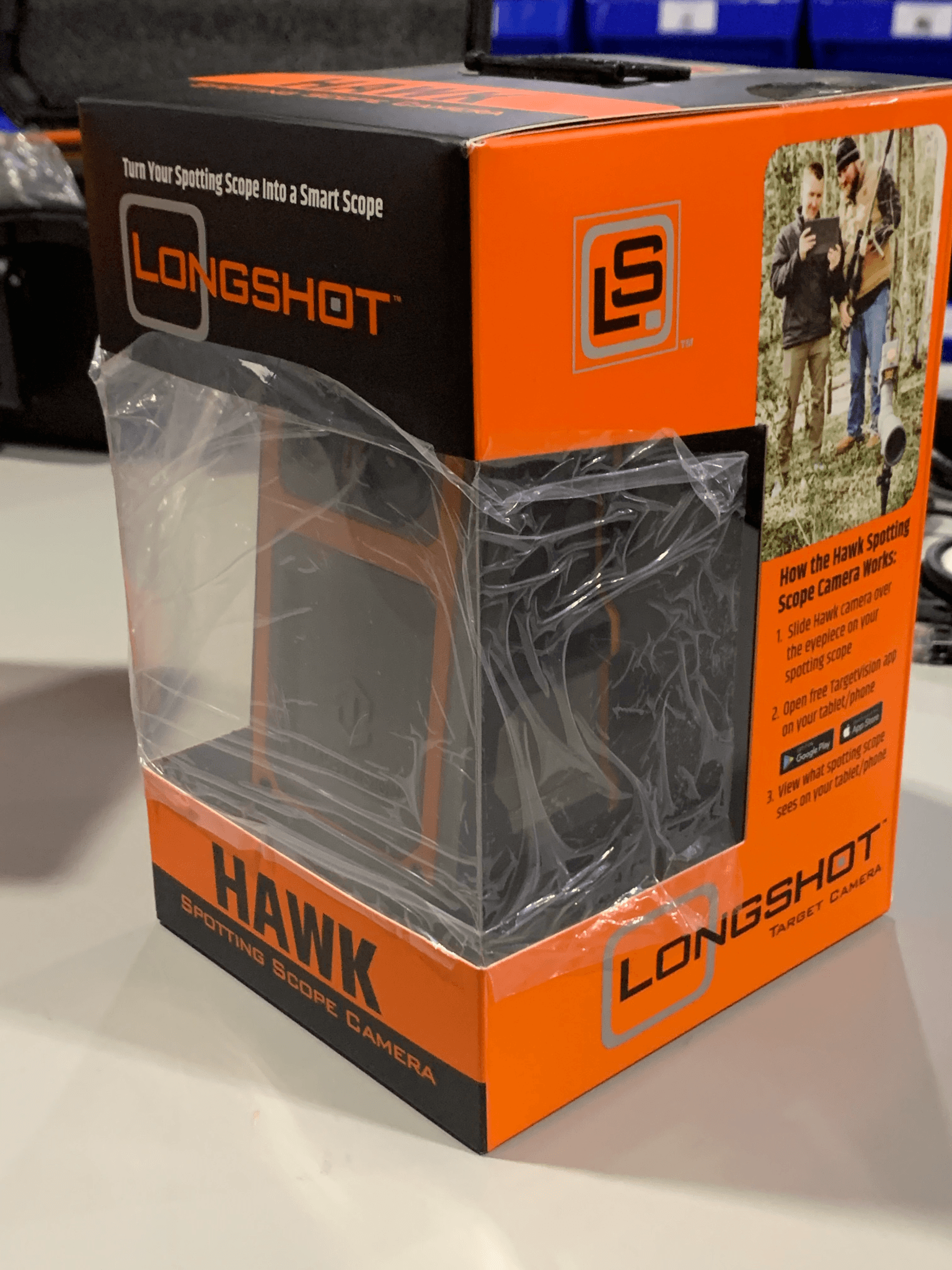 CLOSEOUT: Longshot HAWK Smart Scope - Spotting Scope Camera - Longshot Target Cameras