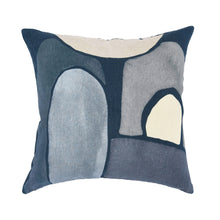 Load image into Gallery viewer, Gema Night Blue Pillow 20 x 20
