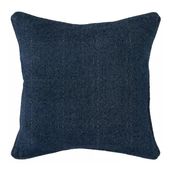 March Deep Blue pillow 22 x 22