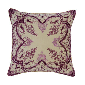 Precious Plum Pillow 22 x 22